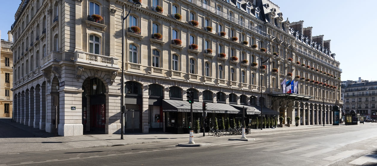 Hilton paris opera for Paris hotel address