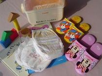 ◆お子様用備品無料貸出し&おむつ販売◆