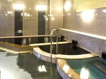 姉妹店『和』のお風呂(別館)※珍しい黒湯温泉。