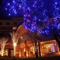 ◆ホテル中庭のイルミネーション※冬期間