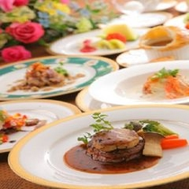 フルコース料理【お料理の一例です】