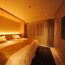 グランドキングスイート ベッドルーム