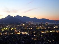 ■周辺情報:大分市街の夕暮れ