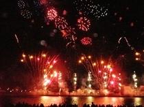 『大分合同新聞納涼花火シリーズ大分会場』1万2500発の花火が大分の夜を彩ります♪