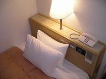 ■客室:ベッドマットレスにこだわっています