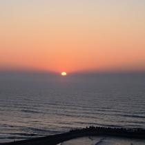 日の出(2015年の日の出の撮影写真になります)