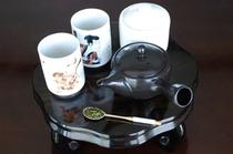 日本茶 無料サービスです