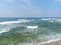 ホテル目の前のサーフィン、ダイビングスポット