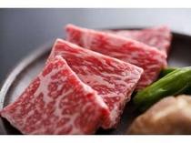 2. 但馬牛ステーキ。別注¥2100です。2日前までに御注文願います。
