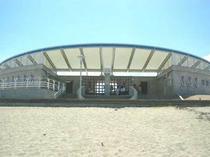 かすみビーチ施設