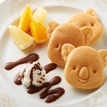 朝食 パンケーキ(盛り付けイメージ)