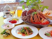 人気の特製ソースで頂く地中海ブイヤベース最後の雑炊も堪能してください