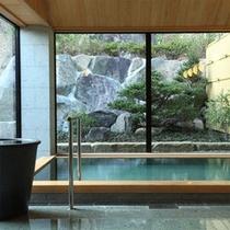 24時間、蒲井温泉を愉しむ(大浴場)