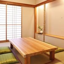 (個室)ふどう・じぞう・みろくのお客様・専用お食事場所