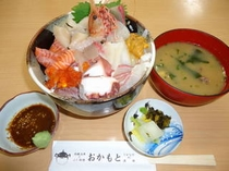 【ドドーン!とおまかせ海鮮丼☆プラン】朝食付♪