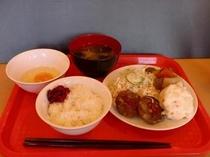 朝食メニュー(1例)