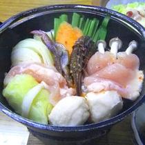 夕食一例(大鍋)