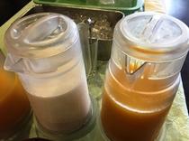 【飲み物】牛乳 オレンジジュース
