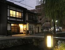 白川庵の夜景