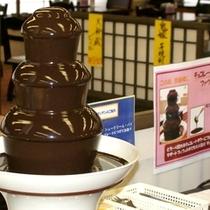 ■デザートは、チョコレートファウンテン☆