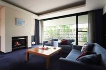 藍 【1番人気】広々3部屋(和+洋+寝室)天然温泉檜の内風呂付