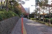 後楽園駅〜ホテルまで。