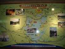 フロント前地図
