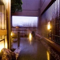◆女性湯大浴場〜露天