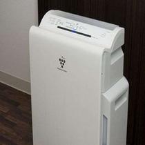 ■全室に空気清浄機付き加湿器を完備♪