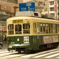 ■路面電車でのんびり観光はいかがですか♪