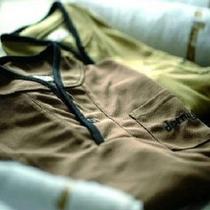 ■部屋着は肌触りの良いセパレートタイプ♪
