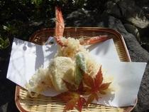 揚げたての天ぷら!