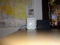 Wi-Fiデスク