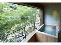 客室露天(浴槽)