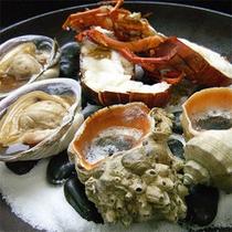 島の魚貝類