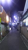 下仁田駅周辺 夜の景色