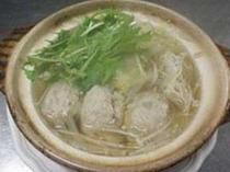鳥肉団子鍋