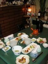 会席料理のイメージです。