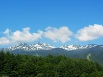 6月下旬の乗鞍岳。