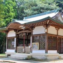 【日奈久温泉神社】600年前孝行息子がお告げを受けて発見したという日奈久温泉。その神様を祭る神社。