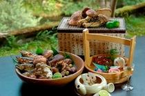 【秋料理】待ちわびる人の多い松茸を余すところなく生かした品々でおもてなし致します