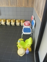 お風呂に介助椅子をご用意しております