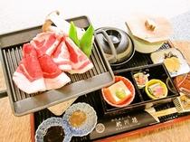 【通年料理】いのしし炙り焼御膳年中ご提供しています!