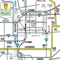 当館までのマップ1
