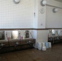 大浴場『洗い場』