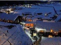 冬 展望台からの眺望