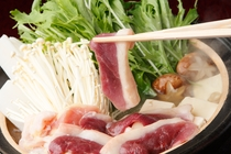 お料理の一例・吉野葛鍋