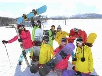 団体スノーボード各種取り揃えております。