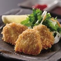 *≪冬期限定≫別注料理・たつかまのフライ650円/たつかまは北国ならではの冬の美味。