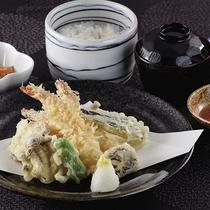 *レストランメニュー【昼】/天ぷら定食1,000円